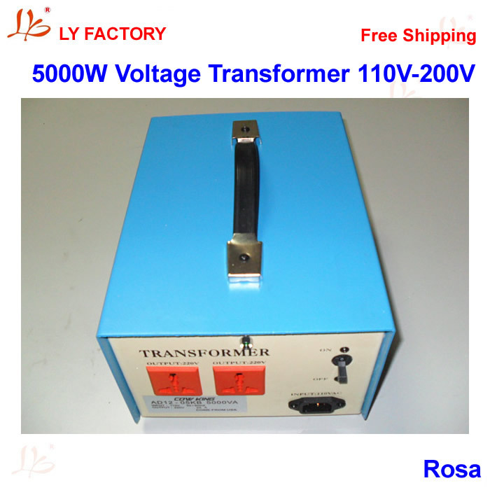 5000W Power Transformer High Power Voltage Converter 110V to 220V 50w 220v to 110v power transformer