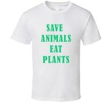 """Save Animals Eat Plants"" t-shirt"