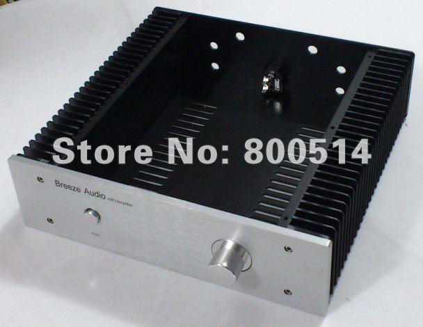 Полный алюминиевый усилитель мощности корпус/случай/шасси --- Внешний размер: 320 мм Х 90 мм Х 311 мм