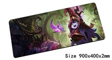 locrkand Lulu mouse pad 900x400mm pad mouse lol notbook computer mousepad Fae Sorceress gaming padmouse gamer laptop mouse mats