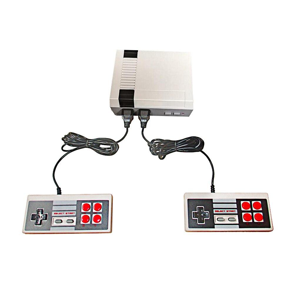 Jeux vidéo console de jeu N/P général double poignée AV sortie magasin 500/600/620 dans 1 jeux tv jeu 8bit pour famille rétro console