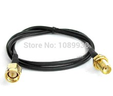 5M cable P-SMA male to P-SMA female Antenna Cable adapter extension cable sma male to sma female plug connector extension cable rg58 2m 5m 7m