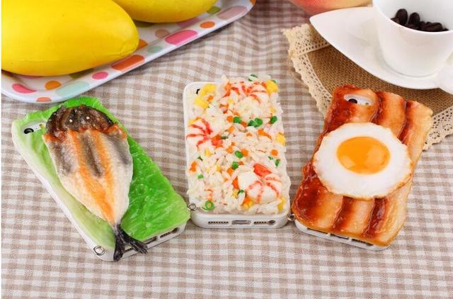 buy online b97f0 ba6ac US $11.9 |New style reality 3D food love meal phone cases PC material cover  cases for iphone 5 5s phone cases on Aliexpress.com | Alibaba Group