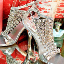 Party Wedding Shoes Exceed Costly Silver Sandals Party Prom High Heels Lady Gorgeous Summer Sandals
