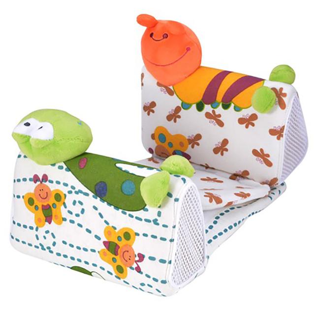 Algodão Branco Impresso Travesseiro Forma Bebê Crianças Bonito Conjunto de Cama Recém-nascidos -- MKA083 PT49