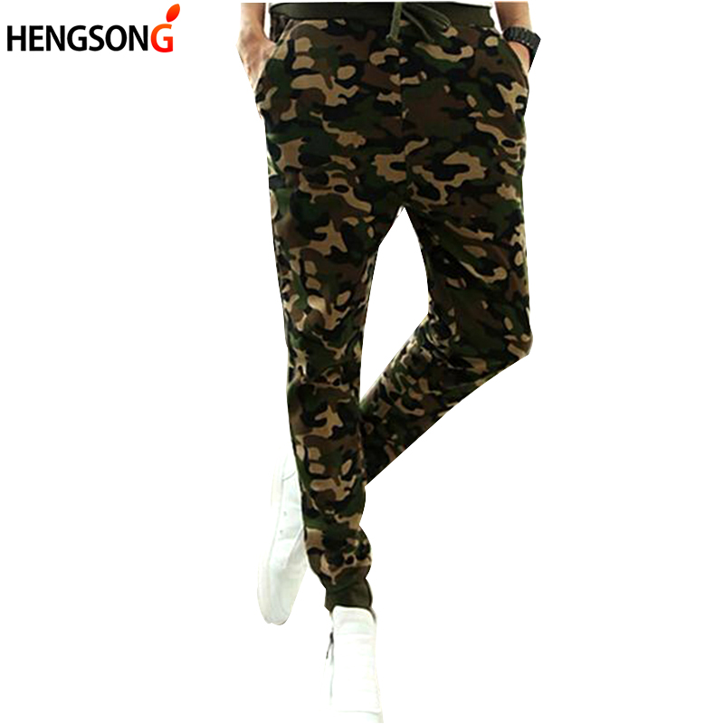 Camo Camouflage Pants Mens Sport Fitness Pants 2017 Spring Men Tranning Exercise Running Pant Long Trousers XXL CU853402