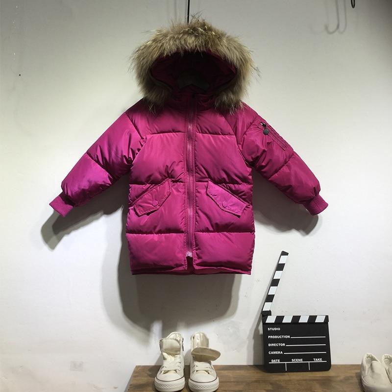 Children's Down Jacket Baby Clothing Baby Boys Jacket 2018 Winter Jacket Warm Hooded Long Sleeve Jacket for A Boy 2 3 4 5 6 7 8Y jacket golfino jacket