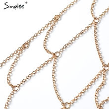 SPECIAL OFFER! Lattice Hollow Out Chain Beach