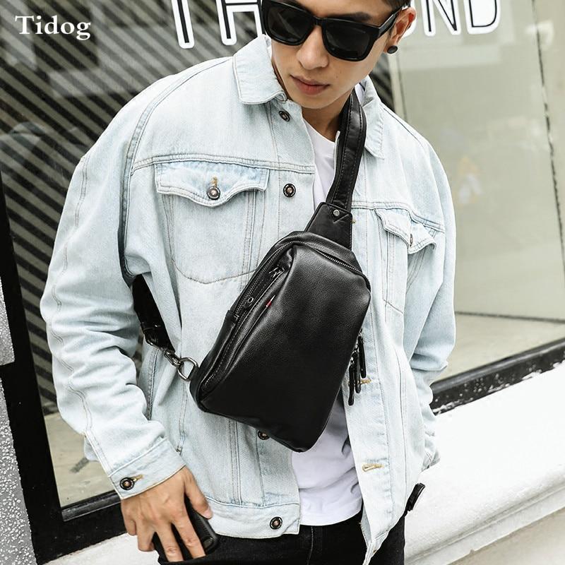 Tidog Casual riding bag trend fashion chest bag