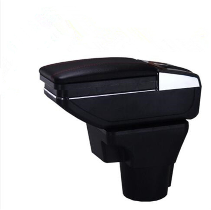 High quality New Car-Styling Center Console Armrest Storage Box Case for Kia Rio 2010-2016 Car accessories 7 generation car center console armrest storage box suitable for ford focus 2 focus 3 auto accessories
