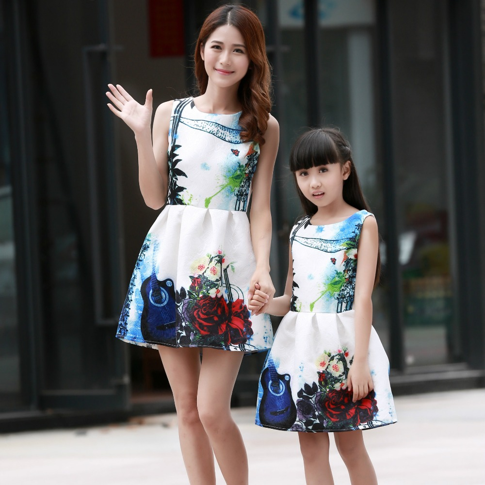 brand new mother daughter clothes fashion family outfits