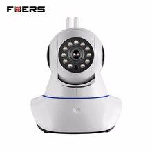 Fuers 720 P HD WIFI IP Камера Ночное видение аудио Запись видео Крытый Камера дома Охранной Сигнализации