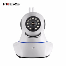 Fuers 720P HD WiFi IP Camera Night Vision Audio Recording video Indoor Camera Home Security Alarm