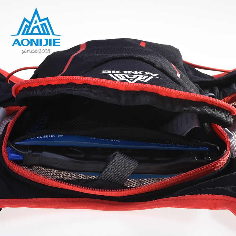 Bolsa AONIJIE 5L para hombre y mujer, chaleco de hidratación Maratón, paquete para 1,5 l, bolsa de agua para ciclismo, senderismo, Mochila deportiva para correr al aire libre