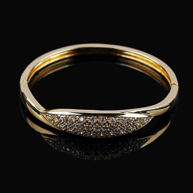 for three gold bangle bracelet bracelets diamond rose designer image stone sale bangles