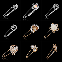 986d0779bdc Large Brooch vintage brooch female fashion broche hijab pins and brooches  for women animal pins broches