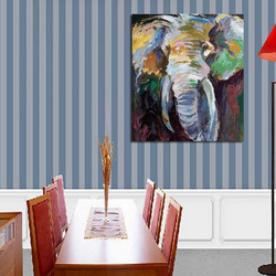 Abstrakte Kunst Hand Painted Elephant Leinwand Ölgemälde Wandkunst  Dekoration Wohnzimmer Moderne Wand Malt Bild