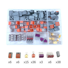 YJCAL Wire Connector 110PCS/Box Combination Suit For 3 Room Mixed Universal Fast Wiring Lighting Accessories Terminal China