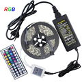 led strip 5050 waterproof led light 60led/M RGB color DC12V +44key control (only for RGB) +12V6A power supply warranty 2 years