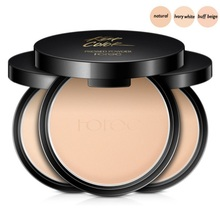 1PC Professional Brand Pressed Mineral Powder Cosmetics Long Lasting Brightening Whitening Contouring Makeup Face Powder Palette iman cosmetics luxury pressed powder earth dark
