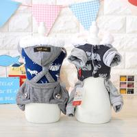Winter Warm Clothing For Dogs Pet Puppy Cat Cute Small Dog Clothes Animal Cute Cotton Dog