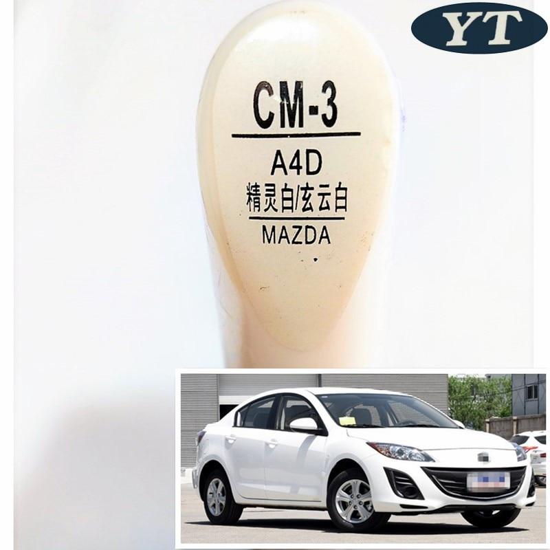 Car Scratch Repair Pen, Auto Paint Pen WHITE Color For Mazda 2 Mazda 3 Mazda 6,cx-5,cx-3,car Painting Pen