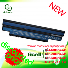 Golooloo Батарея для acer Aspire one 253H 532h 532G AO532h для eMachines 350 eM350 NAV51 NAV50 UM09H31 UM09H41 UM09G31 UM09H75