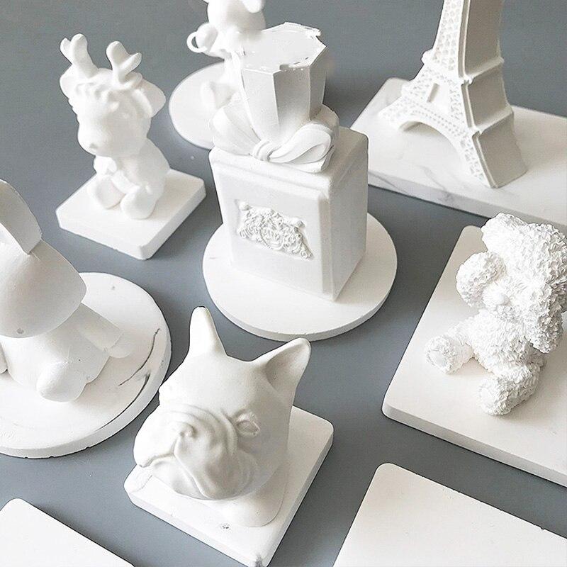 Plaster Figure Molds Gypsum Molds Handmade Concrete Molds Cement