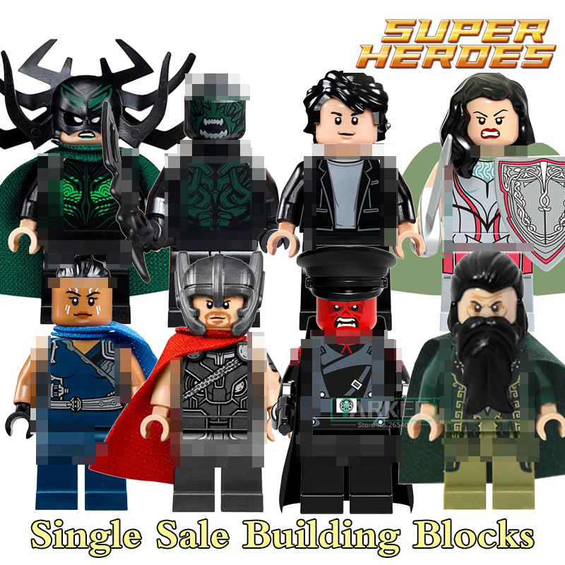Building Blocks Beserker Hela Valkyrja Mandarin Figures Sif Briques Super Hero Avengers Action Bricks Kids DIY Toys Hobbie X0172 building blocks agent uma thurman peeta dc marvel super hero star wars action bricks dolls kids diy toys hobbies kl069 figures