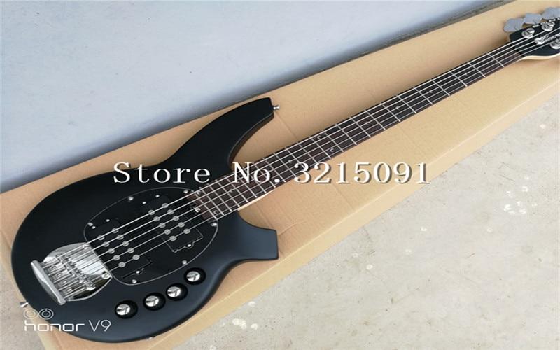 buy free shipping top qulity music man bongo metal black 5 strings active. Black Bedroom Furniture Sets. Home Design Ideas