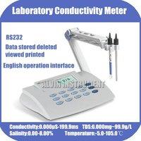Лабораторный Настольный топовый проводимость TDS соленый измеритель температуры тестер анализатор брендовый товар бесплатная доставка
