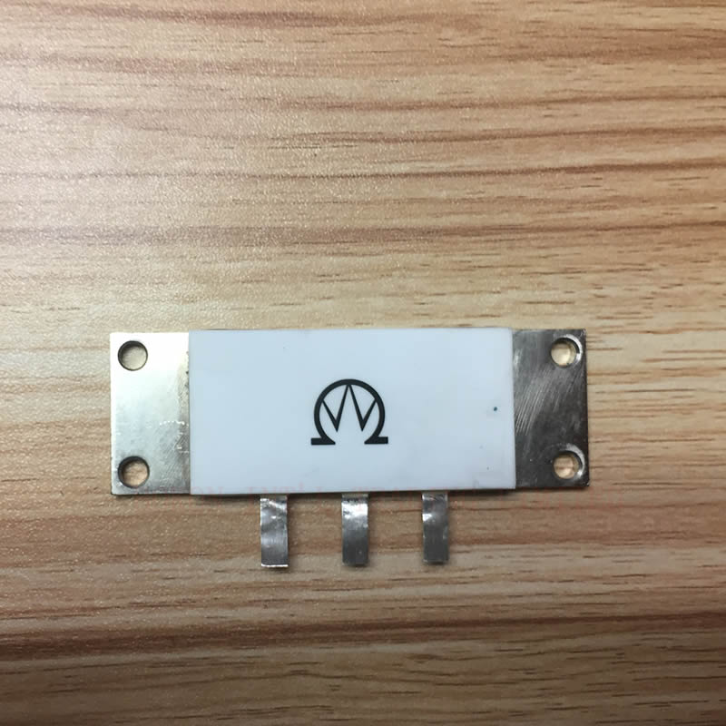 Bride Résiliation 250 watt 50 ohm RF Résiliation Micro-ondes Résistance Haute Puissance Charge Fictive 250 w 50 ohms RIG43-250W 3*50 ohm