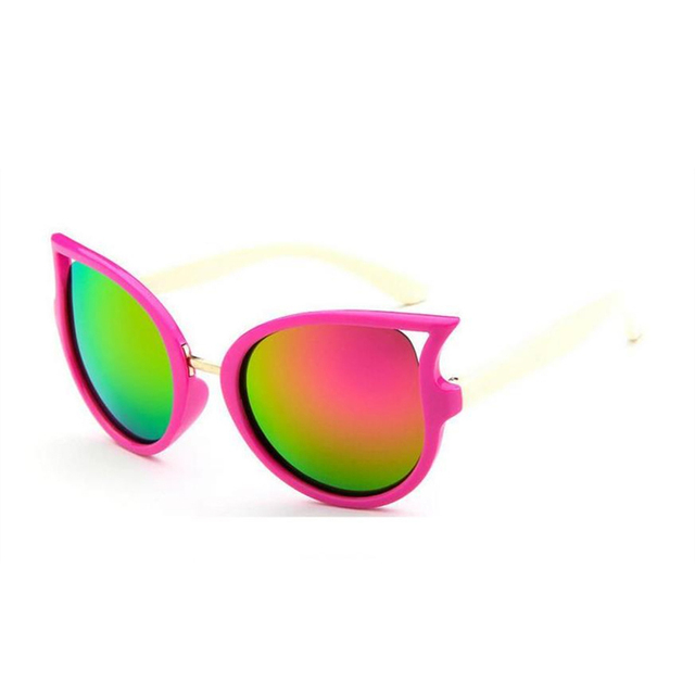 WANMEIDS Kids Fashion Sunglasses 2018 Boys Girls Goggle UV400 Sun Glasses Top Quality Children Eyewear Accessories