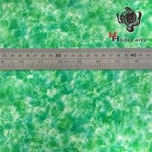 Высококачественная Нефритовая Зеленая Мраморная гидро/вода переводная печатная пленка для иммерсионной печати 45 см широкая Аква печать HTM-12381
