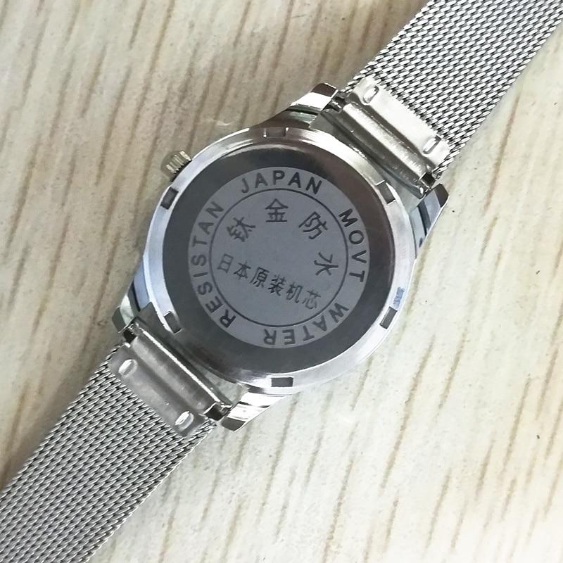 2018 Najnowsza marka odzieżowa Genewa kobiet Diamentowy zegarek - Zegarki damskie - Zdjęcie 3