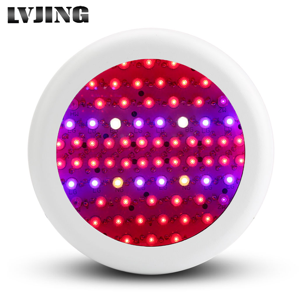 Full Spectrum MINI UFO High Power AC85~265V 216W 52Red+12Blue+2warm white+2white+2IR+2UV LED Grow Lights for Hydroponics Flowers кухонная мойка smeg lse 40 ra медный metaltek