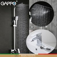 GAPPO Basin Faucets bathtub faucet bathroom faucet mixer basin faucets basin sink tap Sanitary Ware Suite