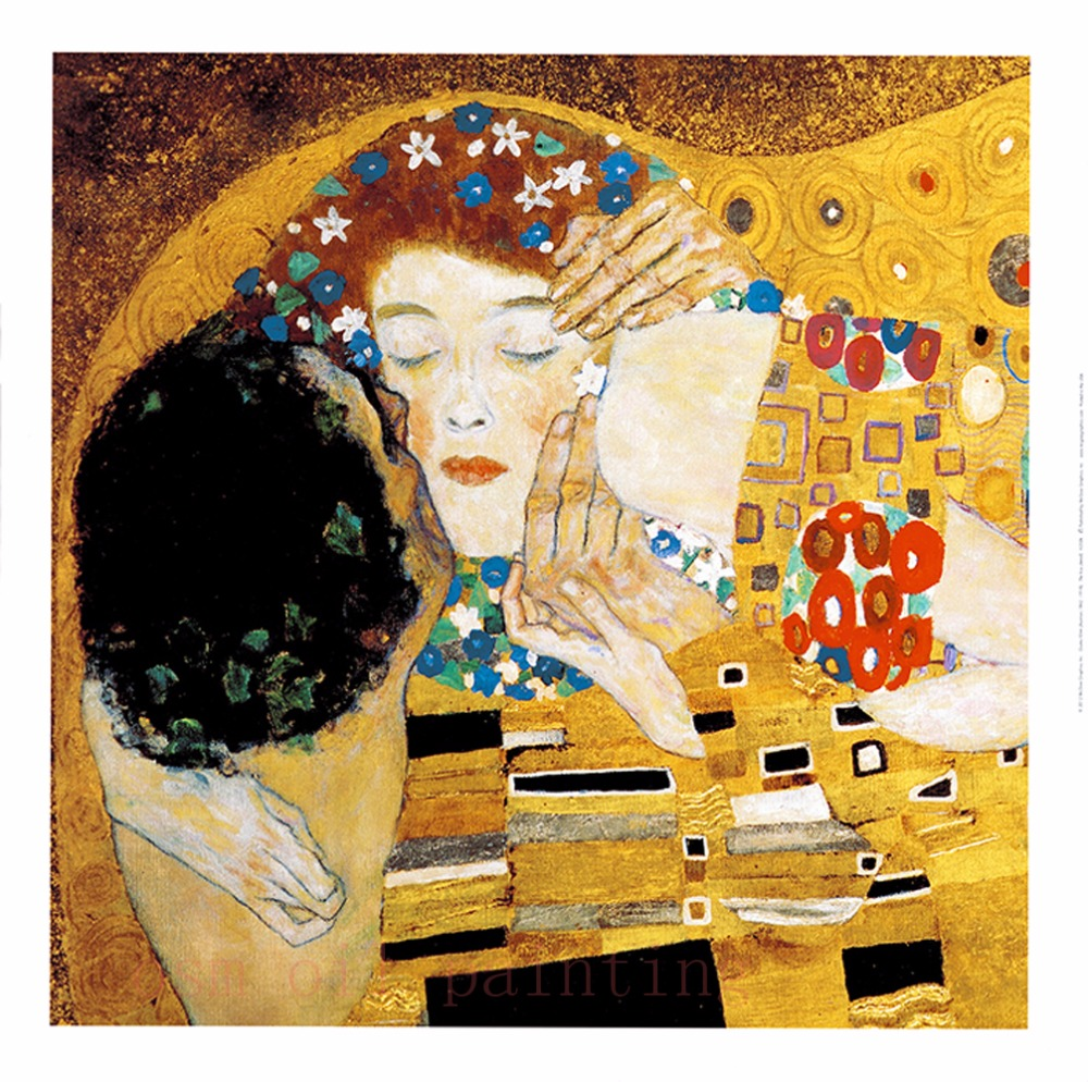 Printed Modern Abstract Gold Oil Painting Wall Art Decorative Spray ...