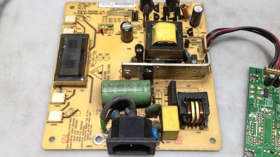 PI-SB03 6pin Power Board For VA903B VA703M VA703B free shipping va903b va913b va703m original power board blm1700p60210 2 package measuring good original 100
