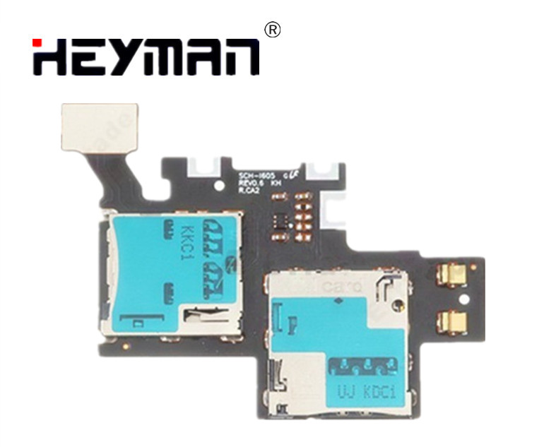 Heyman Flex Cable for Samsung Galaxy Note II S CH-I605 SIM Card and SD Card Reader Contact Replacement