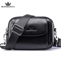 Fashion genuine Leather Waist Bag Women Alligator Waist Pack Travel Belt Wallets Fanny Bags Ladies Fit 5.5 inches phones