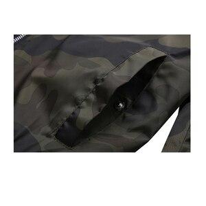 Image 5 - Esercito Giacca Mimetica Uomini Casual Bomber Giubbotti Mens Zipper Outwear Giacca di Autunno della Molla Sottile Cappotto Uomo Più Il Formato 7XL formato