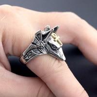 Властное кольцо смерти мужское кольцо анти-волк титановая сталь Выживание Самозащита личность мужчин студентов боевых искусств jewe