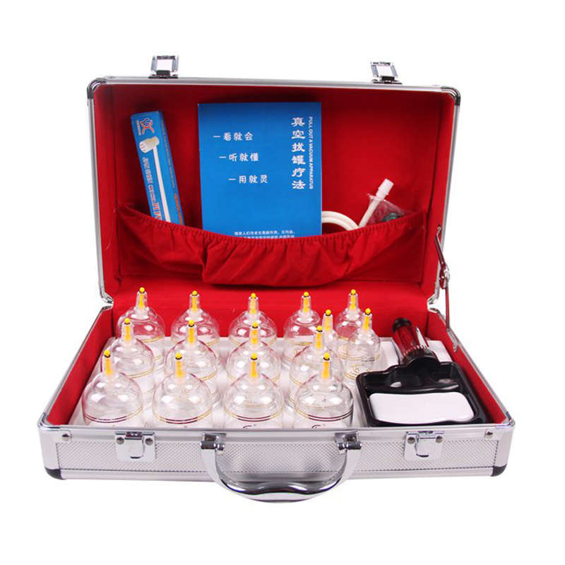 New Design Kangci medical Vacuum Cupping Set 15 Cups Aluminum Alloy Case Chinese massage cupping set gift box cupping therapyNew Design Kangci medical Vacuum Cupping Set 15 Cups Aluminum Alloy Case Chinese massage cupping set gift box cupping therapy