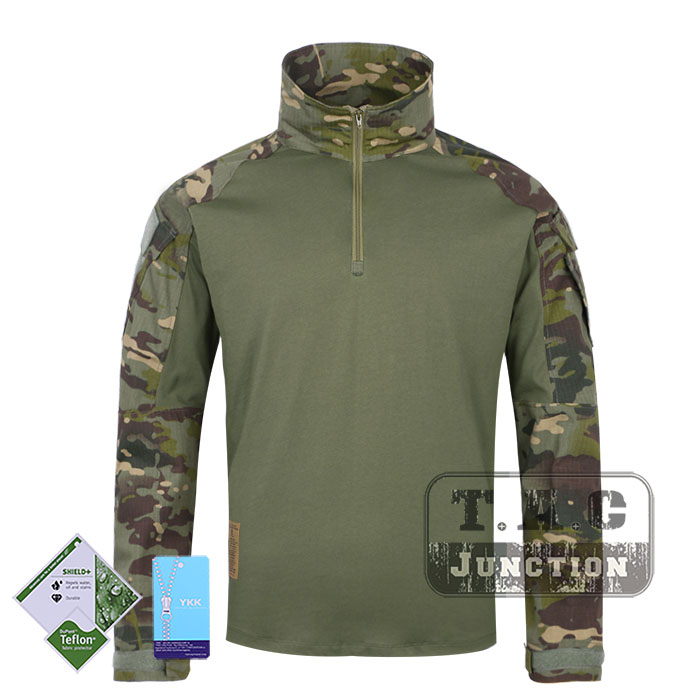 Tactical Emerson BDU G3 Combat Shirts Emersongear CP Style Battlefield Tops Assault Uniform Body Armor Apparel Multicam Tropic