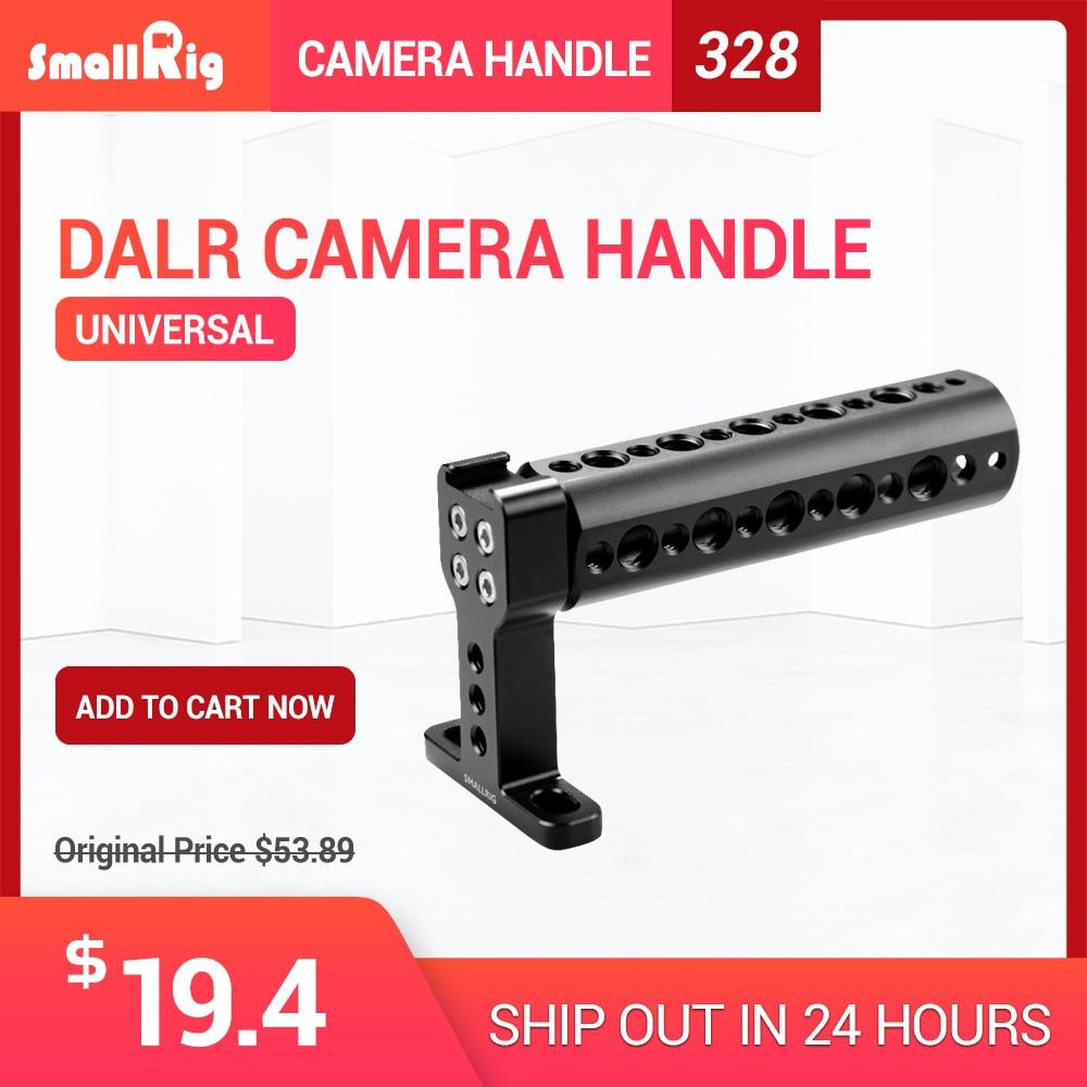 SmallRig Top In Alluminio Maniglia Formaggio Maniglia Grip con Scarpa Freddo di Base per Dslr Fotocamera Digitale-1638