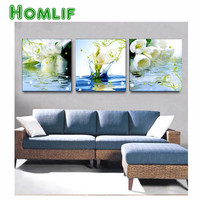 Calla Lily Home Beauty Room Decoration Diamond Painting New 3d Diy Diamond Embroidery Kits Mosaic Wall