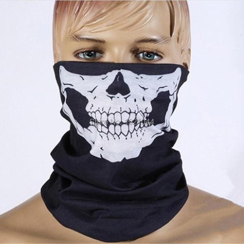 Cheap High quality Skull Scarf Mask Cool Ridding Scarf Field face mask Headband Skull Neck Masks
