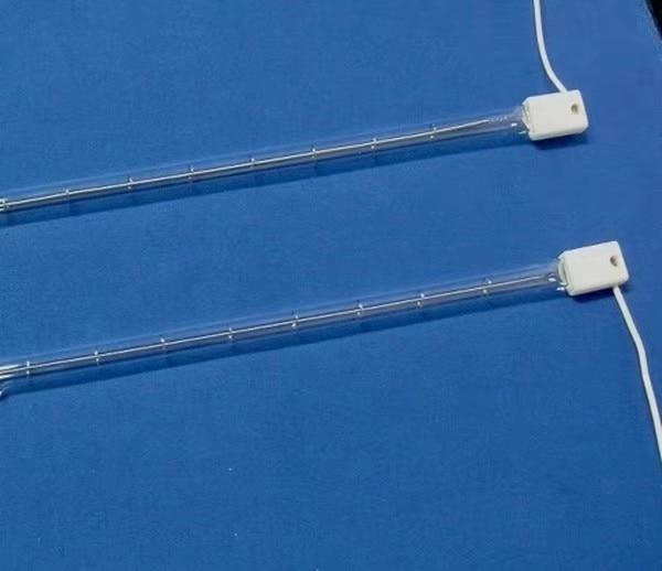 Quartz Tube Medium Wave IR Heater Lamps for Leather Embossing