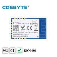 E18-MS1PA1-PCB Zigbee IO CC2530 PA 2,4 Ghz 100mW PCB antena IoT uhf transmisor inalámbrico y receptor RF módulo